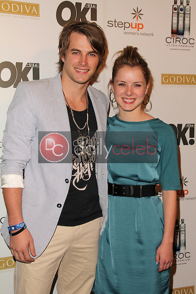 James Preston and Laura Wiggins<br />