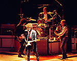 Bob Dylan 1986 with Tom Petty.© Chris Walter.