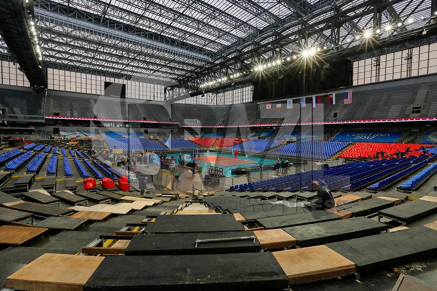 CURITIBA,PR, - 02.07.2017 – LIGA MUNDIAL-PR –  Vista da Arena da Baixada, local dos jogos finais da liga mundial de vôlei em Curitiba (PR), neste domingo (02).(Foto: Paulo Lisboa/Brazil Photo Press)