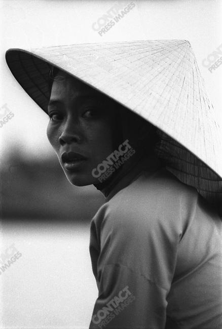 Vietnamese Woman, South Vietnam, March 1972