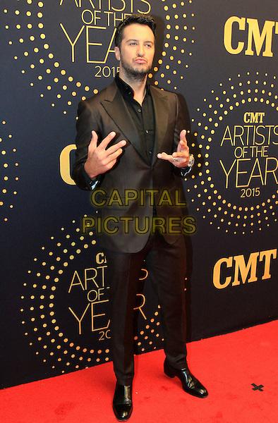 02 December 2015 - Nashville, Tennessee - Luke Bryan. 2015 &quot;CMT Artists of the Year&quot; held at Schermerhorn Symphony Center. <br /> CAP/ADM/BM<br /> &copy;BM/ADM/Capital Pictures
