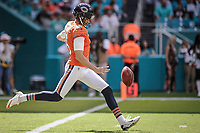 MIAMI, FL, 14.10.2018 – MIAMI DOLPHINS-CHICAGO BEARS – Kicker Parkey do Chigado Bears, durante partida válida pela semana 6 da temporada regular da NFL, no Hard Rock Stadium, na tarde deste sábado (14). (Foto: Jayson Braga / Brazil Photo Press)