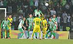 Atlético Nacional venció 0-1 a Leones. Semifinal ida Copa Colombia 2018.