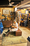 MEXICO, San Pancho, San Francisco, La Patrona Polo Club, one of the players in the tack room following the match