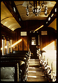 Interior view of passenger coach.<br /> D&amp;RGW