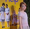 "EMMA STONE.attends ""The Help"" World Premiere at the Samuel Goldwyn Theater, Beverly Hills, Westwood, Los Angeles_09/08/2011.Mandatory Photo Credit: ©Crosby/Newspix International. .**ALL FEES PAYABLE TO: ""NEWSPIX INTERNATIONAL""**..PHOTO CREDIT MANDATORY!!: NEWSPIX INTERNATIONAL(Failure to credit will incur a surcharge of 100% of reproduction fees).IMMEDIATE CONFIRMATION OF USAGE REQUIRED:.Newspix International, 31 Chinnery Hill, Bishop's Stortford, ENGLAND CM23 3PS.Tel:+441279 324672  ; Fax: +441279656877.Mobile:  0777568 1153.e-mail: info@newspixinternational.co.uk"