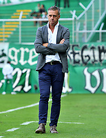 PALMIRA - COLOMBIA, 02-02-2019: Lucas Pusineri técnico del Cali gesticula durante partido por la fecha 3 de la Liga Águila I 2019 entre Deportivo Cali y Atletico Huila jugado en el estadio Deportivo Cali de la ciudad de Palmira. / Lucas Pusineri coach of Cali gestures during match for the date 3 as a part Aguila League I 2019 between Deportivo Cali and Atletico Huila played at Deportivo Cali stadium in Palmira city.  Photo: VizzorImage/ Nelson Rios / Cont