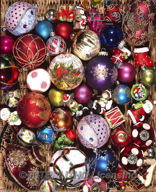 Interlitho-Alberto, CHRISTMAS SYMBOLS, WEIHNACHTEN SYMBOLE, NAVIDAD SÍMBOLOS, photos+++++,balls allover,KL9018,#XX#
