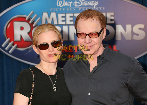 "BRIDGET FOMDA & DANNY ELFMAN .""Meet The Robinsons"" Los Angeles Premiere at the El Capitan Theatre, Hollywood, California, USA..March 25th, 2007.headshot portrait glasses sunglasses shades .CAP/ADM/BP.©Byron Purvis/AdMedia/Capital Pictures"
