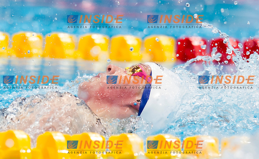 MILEY Hannah GBR<br /> London, Queen Elizabeth II Olympic Park Pool <br /> LEN 2016 European Aquatics Elite Championships <br /> Swimming<br /> Woen's 200m medley semifinal  <br /> Day 10 18-05-2016<br /> Photo Giorgio Perottino/Deepbluemedia/Insidefoto