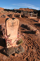 Grave, Grafton Cemetery (ghost town), Rockville, Washington County, U