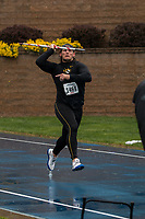 Mizzou senior Reinhard Van Zyl makes his way down the runway enroute to victory in the men's javelin at the Drake Relays, Friday, April 28. Van Zyl posted a best toss of 66.57 meters/218-5 in the rain at the 108th edition of the Drake Relays in Des Moines, Iowa.