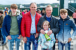 Shane Fitzgerald, Tommy Mullins, Jerry Fitzgerald, Mary Fitzgerald and Stephen Mullins (Ardagh, Limerick), pictured at Listowel races on Sunday last.
