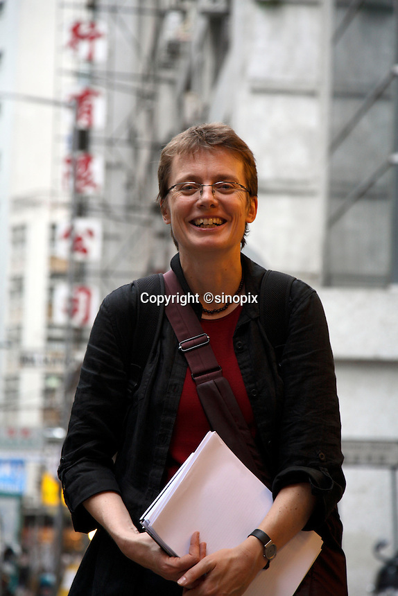 Ruth Kirchner in Hongkong, China on 17 April, 2008.