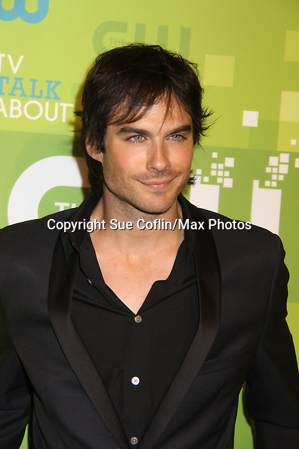 Ian Somerhalder - The Vampire Diaries at the CW Upfront 2011 green carpet arrivals at Jazz at Lincoln Center, New York City, New York on May 18, 2011. (Photo by Sue Coflin/Max Photos)