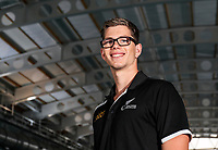Jesse Reynolds. Swimming New Zealand Gold Coast Commonweath Games Team Announcement, Owen G Glenn National Aquatic Centre, Auckland, New Zealand,Friday 22 December 2017. Photo: Simon Watts/www.bwmedia.co.nz
