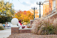 Fall Foliage on Campus in late November.<br />  (photo by Marco Lopez / &copy; Mississippi State University)