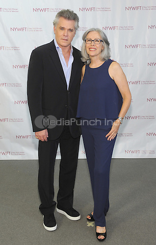 NEW YORK, NY - JUNE 13: Ray Liotta and Rose Chatterton attends the New York Women in Film and Television Designing Women Awards on June 13, 2016 at CUNY Graduate Center in New York City. .Phto Credit: John Palmer/ Media Punch