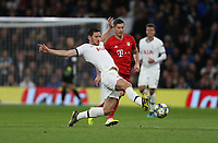 Tottenham Hotspur's Jan Vertonghen and Bayern Munich's Robert Lewandowski<br /> <br /> Photographer Rob Newell/CameraSport<br /> <br /> UEFA Champions League Group B  - Tottenham Hotspur v Bayern Munich - Tuesday 1st October 2019 - White Hart Lane - London<br />  <br /> World Copyright © 2018 CameraSport. All rights reserved. 43 Linden Ave. Countesthorpe. Leicester. England. LE8 5PG - Tel: +44 (0) 116 277 4147 - admin@camerasport.com - www.camerasport.com