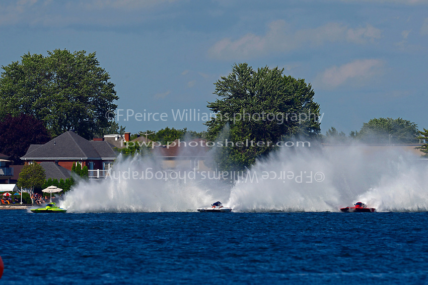 "Mathew Daoust, GP-9, Mike Monahan, GP-35 ""TM Special"", Tom Thompson, GP-525 ""Fat Chance"" (Grand Prix Hydroplane(s)"