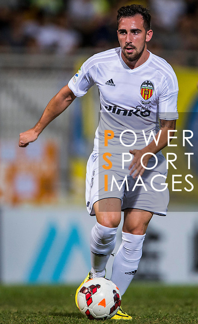 Paco Alcacer of Valencia CF in action LFP World Challenge 2014 between Valencia CF vs BC Rangers FC on May 28, 2014 at the Mongkok Stadium in Hong Kong, China. Photo by Victor Fraile / Power Sport Images