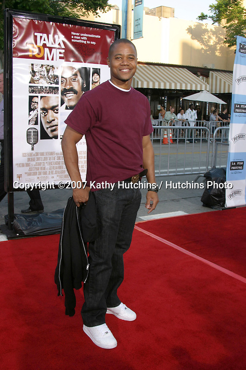 "Cuba Gooding Jr.""Talk to Me"" Premiere.Opening Night of the Los Angeles Film Festival.Mann's Westwood Village Theater.Westwood, CA.June 21, 2007.©2007 Kathy Hutchins / Hutchins Photo...."