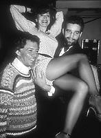 Eddie Fisher Anita Morris Gerry Cooney 1982<br /> Photo By John Barrett/PHOTOlink.net / MediaPunch