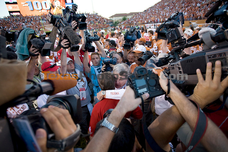 football vs. nebraska.(The University of Texas/Jim Sigmon)