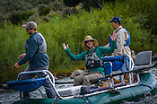 Fishermen & Women floating the Upper Colorado River from Radium to Rancho Del Rio in the afternoon of July 21, 2016.