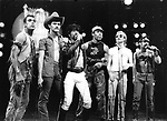 Village People 1979 .Midnight Special TV Show.© Chris Walter.