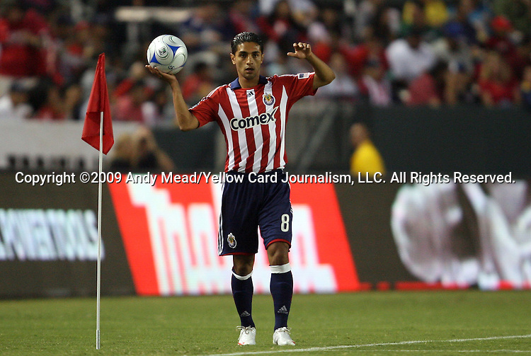 22 August 2009: Chivas USA's Mariano Trujillo. CD Chivas USA played Toronto FC at the Home Depot Center in Carson, California in a regular season Major League Soccer game.
