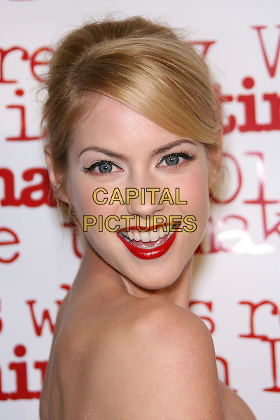 "LAURA RAMSEY.""She's The Man Premiere"" - Arrivals held at Mann Village Theater, Hollywood, California, USA.March 8th, 2006.Photo: Zach Lipp/AdMedia/Capital Pictures.Ref: ZL/ADM.headshot portrait red lipstick.www.capitalpictures.com.sales@capitalpictures.com.© Capital Pictures."