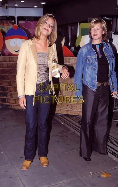 CAT DEELEY.suede jacket, denim jeans .Ref: 8784.www.capitalpictures.com.sales@capitalpictures.com.© Capital Pictures.