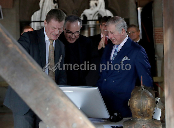14 December 2016 - London, England - Prince Charles during visit to the The Queens Diamond Jubilee Galleries at Westminster Abbey. Photo Credit: Alpha Press/AdMedia