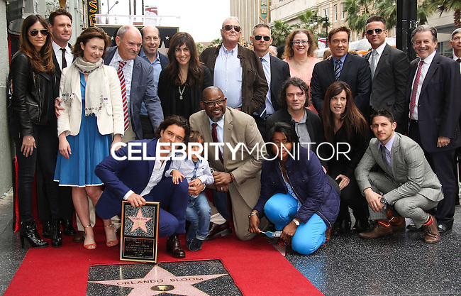 HOLLYWOOD, LOS ANGELES, CA, USA - APRIL 02: Samantha Bloom, Colin Stone, Orlando Bloom, Flynn Christopher Bloom, Forest Whitaker, David Leveaux, Kevin Huvane at Orlando Bloom's star ceremony on the Hollywood Walk of Fame (2,521st star) in the category of Motion Pictures held at 6927 Hollywood Boulevard (next to TCL Chinese Theatre and Madame Tussauds Hollywood) on April 2, 2014 in Hollywood, Los Angeles, California, United States. (Photo by Celebrity Monitor)