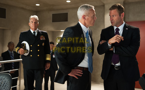 Aaron Eckhart<br /> in Olympus Has Fallen (2013) <br /> *Filmstill - Editorial Use Only*<br /> CAP/NFS<br /> Image supplied by Capital Pictures