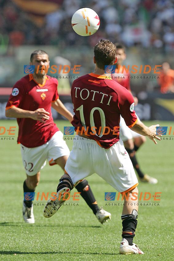 Francesco Totti (Roma)<br /> Italian &quot;Serie A&quot; 2006-2007 <br /> 14 May 2007 (Match Day 36)<br /> Roma-Torino (0-1)<br /> &quot;Olimpico&quot; Stadium-Roma-Italy<br /> Photographer:Andrea Staccioli INSIDE