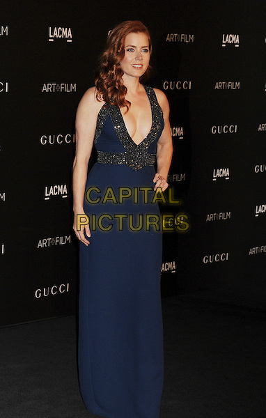 LOS ANGELES, CA - NOVEMBER 01: Actress Amy Adams attends the 2014 LACMA Art + Film Gala honoring Barbara Kruger and Quentin Tarantino presented by Gucci at LACMA on November 1, 2014 in Los Angeles, California.<br /> CAP/ROT/TM<br /> &copy;Tony Michaels/Roth Stock/Capital Pictures