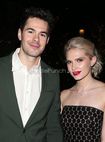 "WESTWOOD, CA - April 13: Jayson Blair, Claudia Lee, At Premiere Of Swen Group's ""The Outcasts"" At The Landmark Regent  In California on April 13, 2017. Credit: FS/MediaPunch"