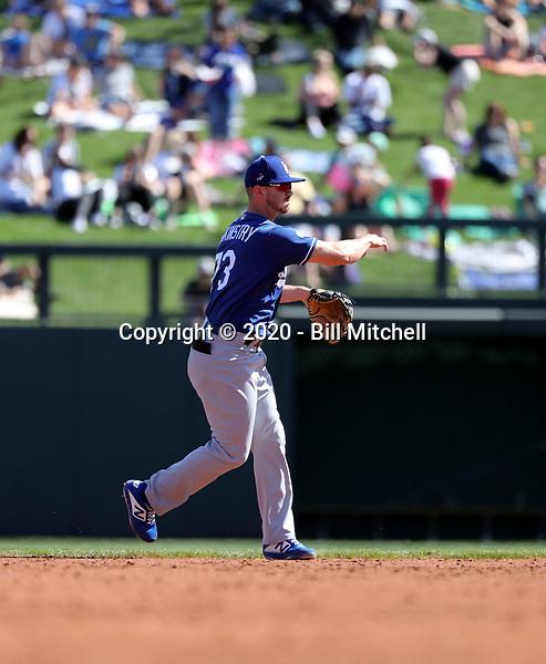 Zach McKinstry - Los Angeles Dodgers 2020 spring training (Bill Mitchell)