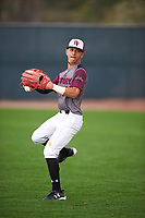 Jose Yadiel Martinez (3) of Juana Colon High School in Comerio, Puerto Rico during the Under Armour All-American Pre-Season Tournament presented by Baseball Factory on January 14, 2017 at Sloan Park in Mesa, Arizona.  (Mike Janes/MJP/Four Seam Images)