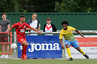 Dillon Gordon of Harlow Town during Harlow Town vs Leyton Orient, Friendly Match Football at The Harlow Arena on 6th July 2019