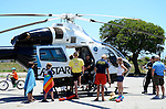 Tour of Cal Star helicopter for Jr. Lifeguards
