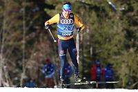 31st December 2019; Dobbiaco, Toblach, South Tyrol, Italy;  FIS Tour de Ski - Cross Country Ski World Cup 2019  in Dobbiaco, Toblach, on December 31, 2019; Jonas Dobler of Germany in the Mens individual 15km
