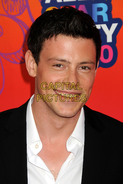 13 July 2013 - Vancouver, British Colombia, Canada - Glee star Cory Monteith was found dead Saturday in his hotel room at the Fairmont Pacific Rim Hotel in Vancouver. He was 31. The cause of death was not immediately apparent. An autopsy was set for Monday. According to police, there were no indications of foul play. They would not discuss what, if anything, was found in room. File Photo: 2 August 2010 - Santa Monica, California - Cory Monteith. FOX 2010 Summer TCA All-Star Party held at Pacific Park on the Santa Monica Pier. <br /> CAP/ADM/BP<br /> &copy;Byron Purvis/AdMedia/Capital Pictures