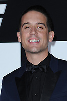www.acepixs.com<br /> April 8, 2017  New York City<br /> <br /> G-Eazy attending 'The Fate Of The Furious' New York premiere at Radio City Music Hall on April 8, 2017 in New York City.<br /> <br /> Credit: Kristin Callahan/ACE Pictures<br /> <br /> <br /> Tel: 646 769 0430<br /> Email: info@acepixs.com