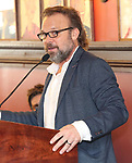 Norbert Leo Butz during the 2018 Outer Critics Circle Theatre Awards presentation at Sardi's on May 24, 2018 in New York City.