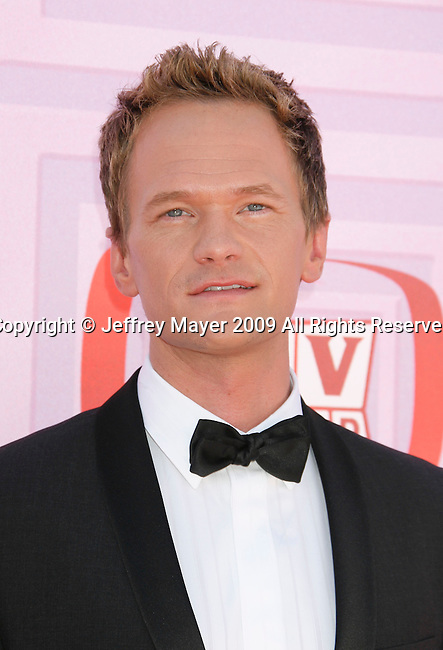 UNIVERSAL CITY, CA. - April 19: Neil Patrick Harris arrives at the 2009 TV Land Awards at the Gibson Amphitheatre on April 19, 2009 in Universal City, California.