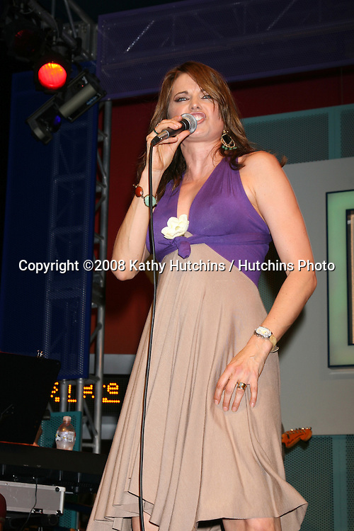 Lucy Lawless performs at Universal CityWalk's Summer Block Party in Universal City, CA on.June 28, 2008.©2008 Kathy Hutchins / Hutchins Photo .