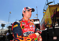 May 30, 2008; Dover, DE, USA; Nascar Sprint Cup Series driver Jeff Gordon during practice for the Best Buy 400 at the Dover International Speedway. Mandatory Credit: Mark J. Rebilas-US PRESSWIRE